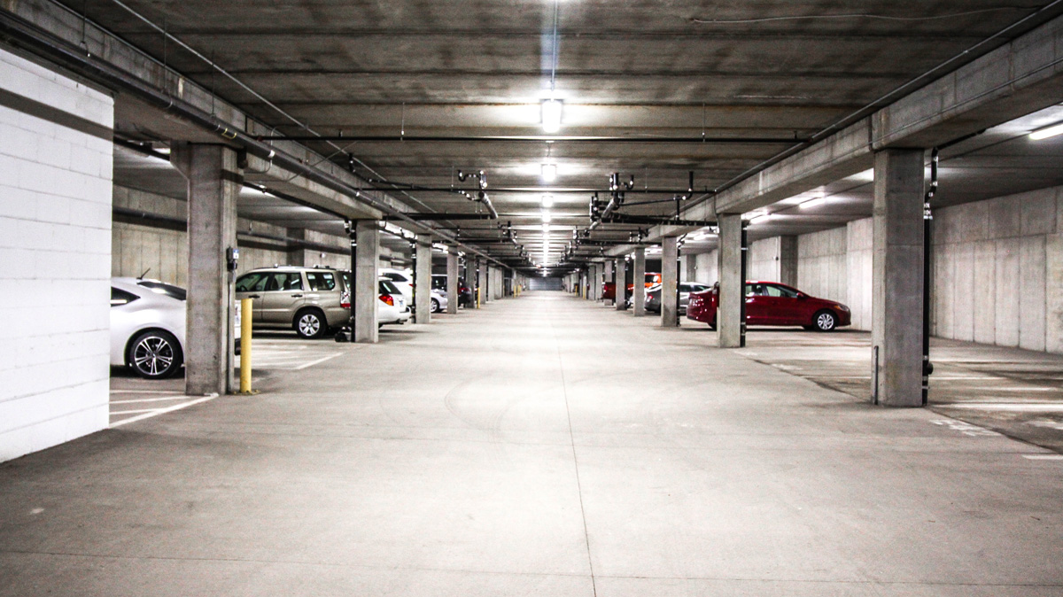 Apartment Parking Garage
