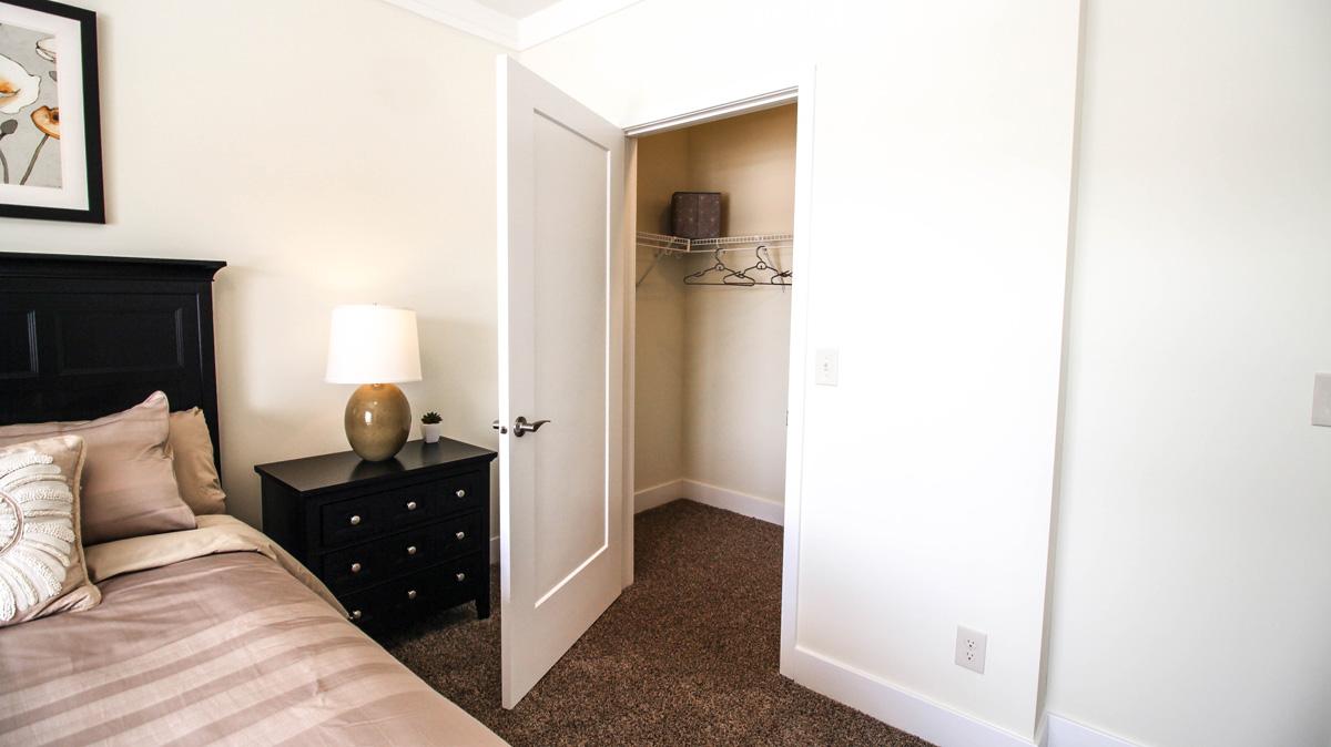 Apartment Bedroom Closet